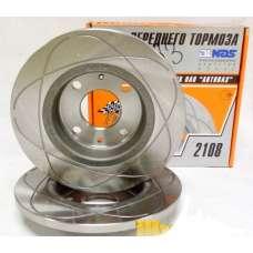 Диски тормозные Alnas 2108 R13 кольцевая проточка