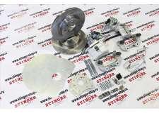 Тормоза дисковые задние R-13 01993-St