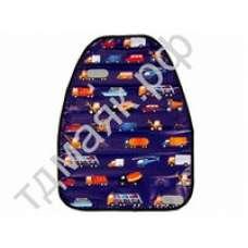 """Защита на спинку сиденья от детских ног 46х61см """"Машинки"""" 732049 847905"""