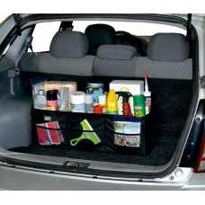 Автосумка-органайзер Bag 050 складная (72х23х23см) (3 отделения) черная 120018