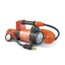 Компрессор АГРЕССОР метал. 12V 280W 50л/мин LED фонарь,сумка 81749 033889