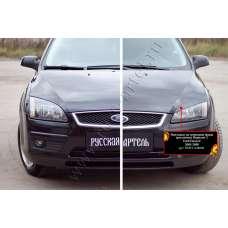 Реснички Ford Focus II пластик