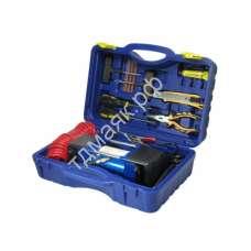 Компрессор АС 625ма, 2-поршневой в кейсе с набором инструментов МА ас625ма