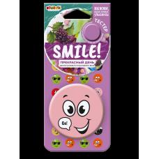 "Ароматизатор Fouette ""Smile"" на зеркало пластик прекрасный день SM-06 554476"