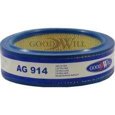 Фильтр воздушный AG914 ГАЗ Соболь,УАЗ карбюратор GoodWill (кругл.) SB2050 FA023