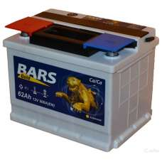 Аккумулятор 6СТ-62 АПЗ Bars Gold залитый 021611