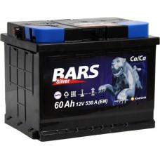 Аккумулятор 6СТ-60 АПЗ Bars Silver пп 021319