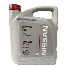 А/масло Nissan SN/CF 5w40 ACEA A3/B4 5л SPM26