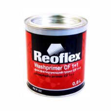 Грунт Reoflex Фосфатирующий CF 1+1 Washprimer реактивный 2K желтый 0,8л RX P-02