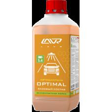 Автошампунь для бескон мойки Lavr Optimal базовый состав (1:50-1:70) концентрат 1,1кг Ln2316 103230