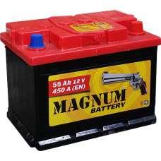 Аккумулятор 6ст 55 Magnum пп (зал) 020585