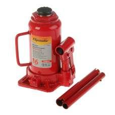 Домкрат гидравлический 16т с клапаном (h min 250мм, h max 490мм) Horse Power 321610
