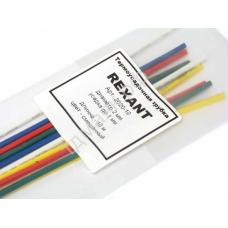 Трубка термоусадочная 2мм REXANT MIX (1м) 2020-10