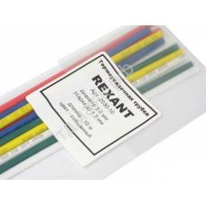 Трубка термоусадочная 3мм REXANT MIX (1м) 2030-10